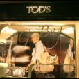 Soirée Tod's, rue du Faubourg St Honoré, le 28/04/09