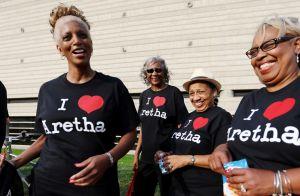 Aretha Franklin, flamboyante jusque dans la mort : Ses fans font leurs adieux
