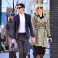 Exclusif - Karlie Kloss et son compagnon Joshua Kushner à New York le 1er avril 2018.