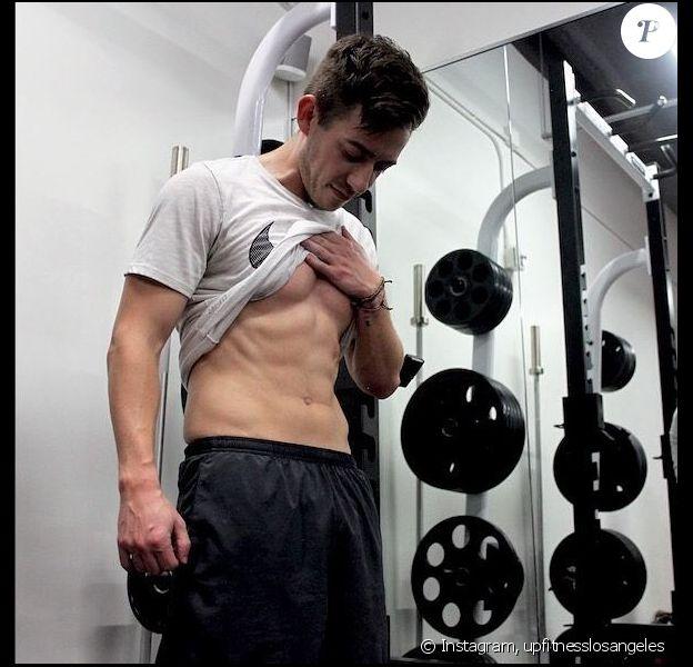 Kevin McHale pris en photo à la salle Ultimate Performance Fitness, le 21 juillet 2018