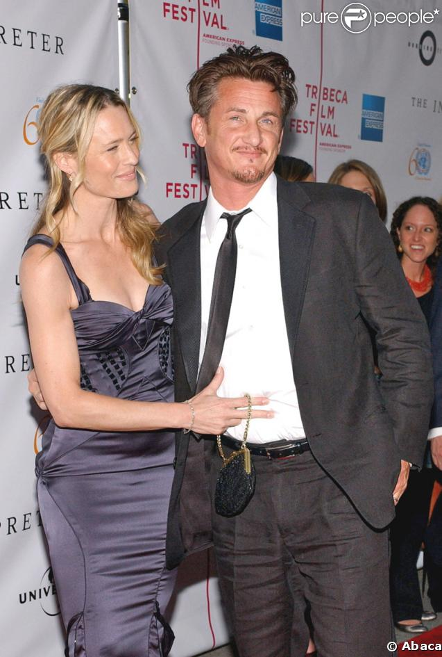 Robin Wright Penn couple