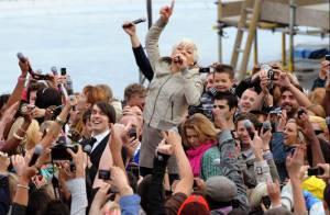 Pink : l'amour lui donne des ailes ! Elle a tout donné à ses fans, à Londres !