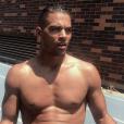 Terrence Telle sexy torse nu à New-York - Instagram, 10 juillet 2018
