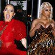 Cardi B VS Nicki Minaj en pleine Fashion Week de New York, le 7 septembre 2018.