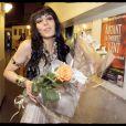 Sofia Essaïdi à la dernière parisienne de Cléopâtre, au Palais des Sports. C'est une femme comblée !