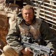 L'adjudant Nathan Hunt, frère d'armes du prince Harry dans l'armée britannique, le 27 février 2008 dans la province du Hellmand en Afghanistan lors d'une mission de reconnaissance. © John Stillwell/PA Wire/Abacapress.com