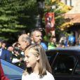 Le roi Felipe VI d'Espagne, la reine Letizia et leurs filles la princesse Leonor des Asturies et l'infante Sofia ont célébré le centenaire du couronnement canonique de la Vierge de Covadonga  le 8 septembre 2018 à Cangas de Onis. Il s'agissait de la première visite officielle de la princesse Leonor dans le royaume des Asturies, une manère d'étrenner officiellement son titre d'héritière, 41 ans après son père.