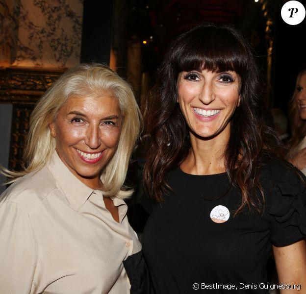 Exclusif - Laure de Lattre (Loft Story 1) et sa mère Michele de Lattre - 9ème cérémonie de remise des labels de qualité SPA-A 2018 au musée Grévin à Paris le 10 septembre 2018. © Denis Guignebourg/Bestimage