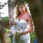 Denise Richards : Sa robe de mariée a été faite en 24 heures !