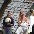 Denise Richards et Aaron Phypers se sont mariés lors d'une petite cérémonie entourés d'amis et de quelques membres de leur famille à Malibu. le 8 septembre 2018.