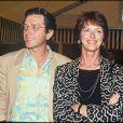 Anny Duperey et Bernard Giraudeau en 1991.