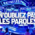 """Le logo de """"N'oubliez pas les paroles"""" sur France 2."""