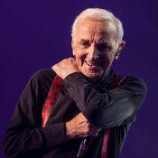 """Charles Aznavour garde un oeil sur David Hallyday : """"Il a fait de belles choses"""""""