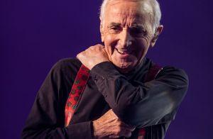 Charles Aznavour garde un oeil sur David Hallyday :