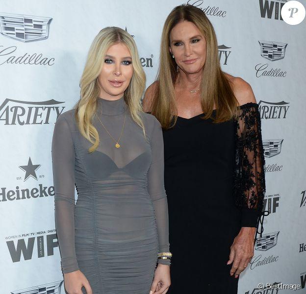 """Sophia Hutchins et Caitlyn Jenner - Les célébrités assistent à la soirée """"Variety Women in Film"""" à Los Angeles le 15 septembre 2018."""