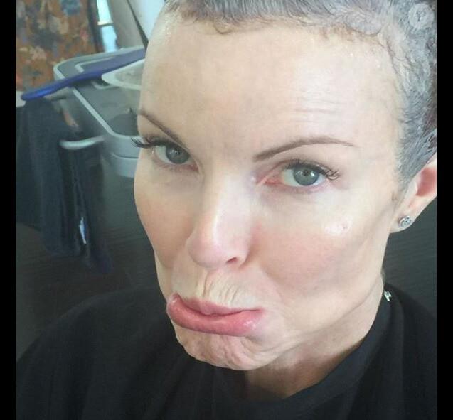 Marcia Cross a dévoilé cette photo sur Instagram, septembre 2018