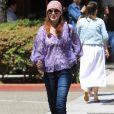 Marcia Cross est allée déjeuner au restaurant La Scala à Beverly Hills, le 25 mai 2018