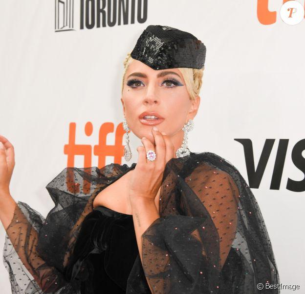 "Lady Gaga à la première de ""A Star Is Born"" au Toronto International Film Festival 2018 (TIFF), le 9 septembre 2018. © Igor Vidyashev via Zuma Press/Bestimage"