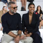 Vincent Cassel et Tina Kunakey, jeunes mariés indécrochables chez Cavalli