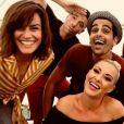 Fauve Hautot, Christophe Licata, Coralie Licata, Maxime Dereymez, Jordan Mouillerac et Katrina Patchett en tournée DALS - Instagram, 19 juillet 2018