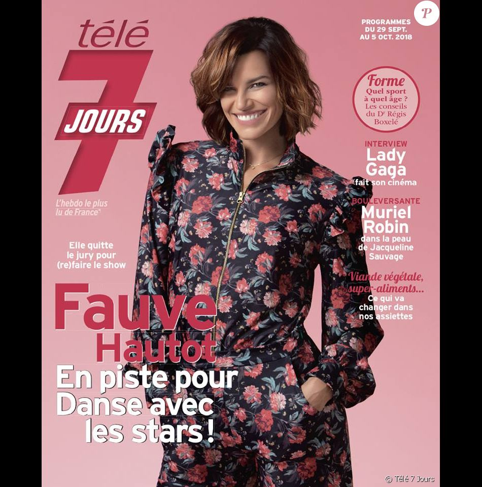 """Couverture du """"Télé 7 Jours"""" avec Fauve Hautot."""
