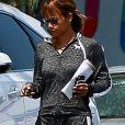 Halle Berry se promène à West Hollywood le 2 août 2018