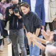"""Phoebe Philo - Défilé de mode prêt-à-porter printemps-été 2017 """"Céline"""" à Paris, le 2 octobre 2016."""