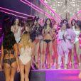 """Cardi B et les mannequins - Défilé - """"Etam Live Show 2018"""" aux Beaux-Arts à Paris, le 25 septembre 2018. © Veeren/Moreau/Bestimage """""""