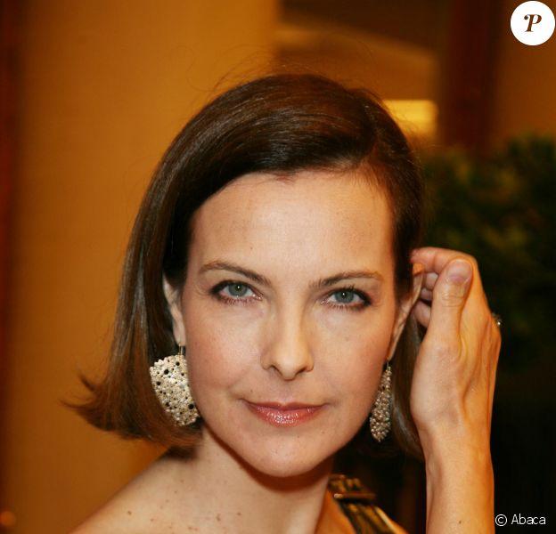 Carole Bouquet au 15e gala Musique contre l'oubli, pour Amnesty International