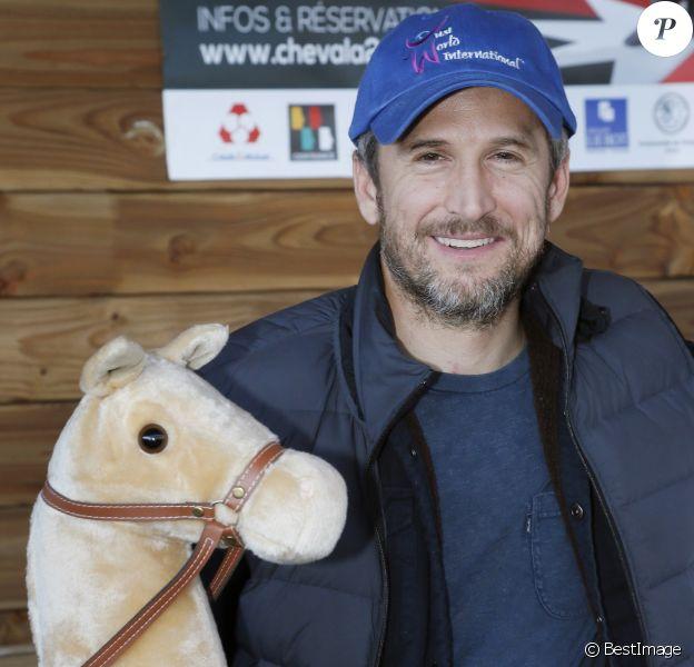 Exclusif - Guillaume Canet est le président et le parrain du 1er championnat du monde de cheval à deux pattes aux Herbiers, près de Nantes le 29 septembre 2018. © Patrick Bernard / Bestimage
