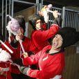 """Exclusif - Guillaume Canet est le président et le parrain du 1er championnat du monde de cheval à deux pattes aux Herbiers, près de Nantes le 29 septembre 2018. Le """"Horse Man"""" est une discipline venu de Finlande qui compte 10 000 licenciés. © Patrick Bernard / Bestimage"""