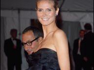 Quand Heidi Klum, enceinte, enlève sa robe... à la télé ! Regardez !