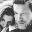 Benjamin Castaldi et sa femme Aurore Aleman - Instagram @b_castaldi, 29 décembre 2017