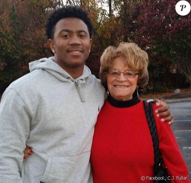 C.J. Fuller et sa grand-mère.