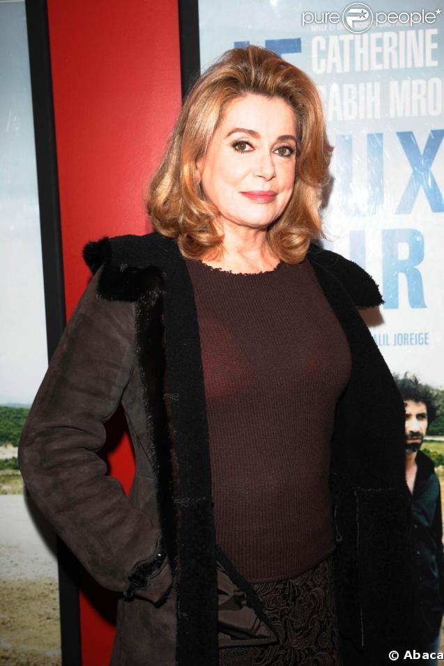 Catherine Deneuve fait partie du casting du film  Les Yeux de sa mère .