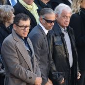 Jean-Paul Belmondo, Dany Boon et Michel Drucker disent adieu à Charles Aznavour