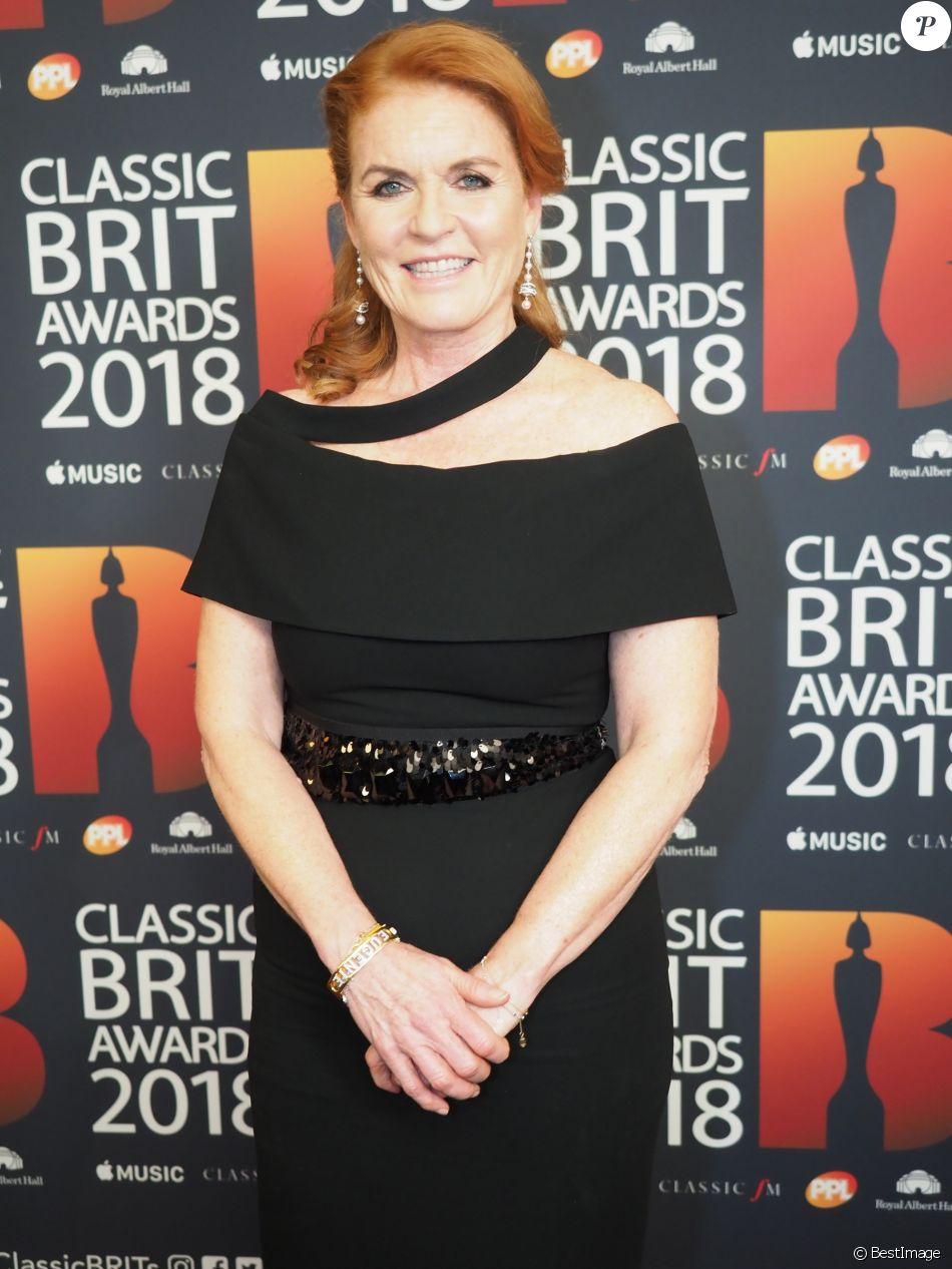Sarah Ferguson, duchesse d'York - Soirée des Classic BRIT Awards au Royal Albert Hall à London, Royaume Uni, le 13 juin 2018.