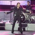 Johnny Hallyday en concert à Saint-Etienne