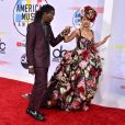 Offset et Cardi B à la soirée 2018 American Music Awards au Microsoft Theater à Los Angeles, le 9 octobre 2018.