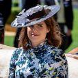 La princesse Eugenie d'York - La famille royale d'Angleterre lors du Royal Ascot 2018 à l'hippodrome d'Ascot dans le Berkshire, le 21 juin 2018.