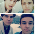 Anthony et Nathan Colette en mai 2014.