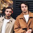 Nathan et Anthony Colette, le 4 janvier 2018.