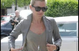 Kate Moss, encore et toujours seule à Londres... Encore de la rupture dans l'air avec son chéri Jamie Hince ?