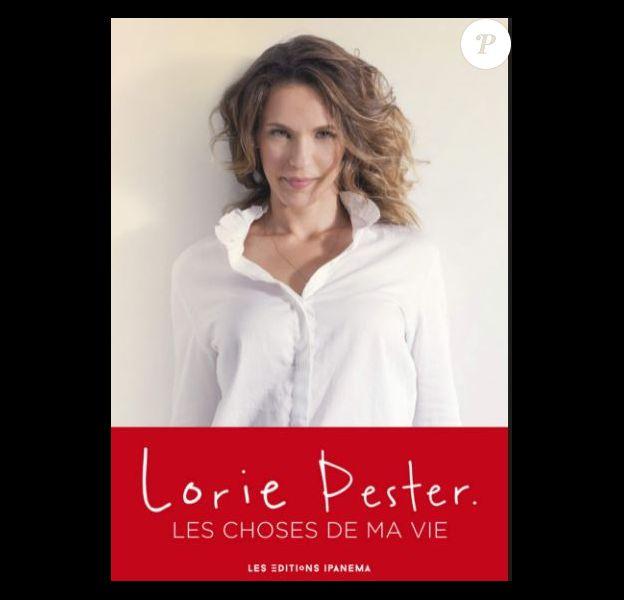 """Couverture du livre de Lorie """"Les choses de ma vie"""""""
