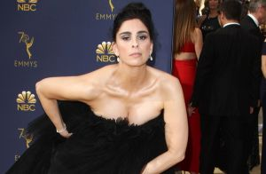 Sarah Silverman choque :