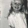 Sophie Davant enfant, un cliché dévoilé le 24 octobre 2018.