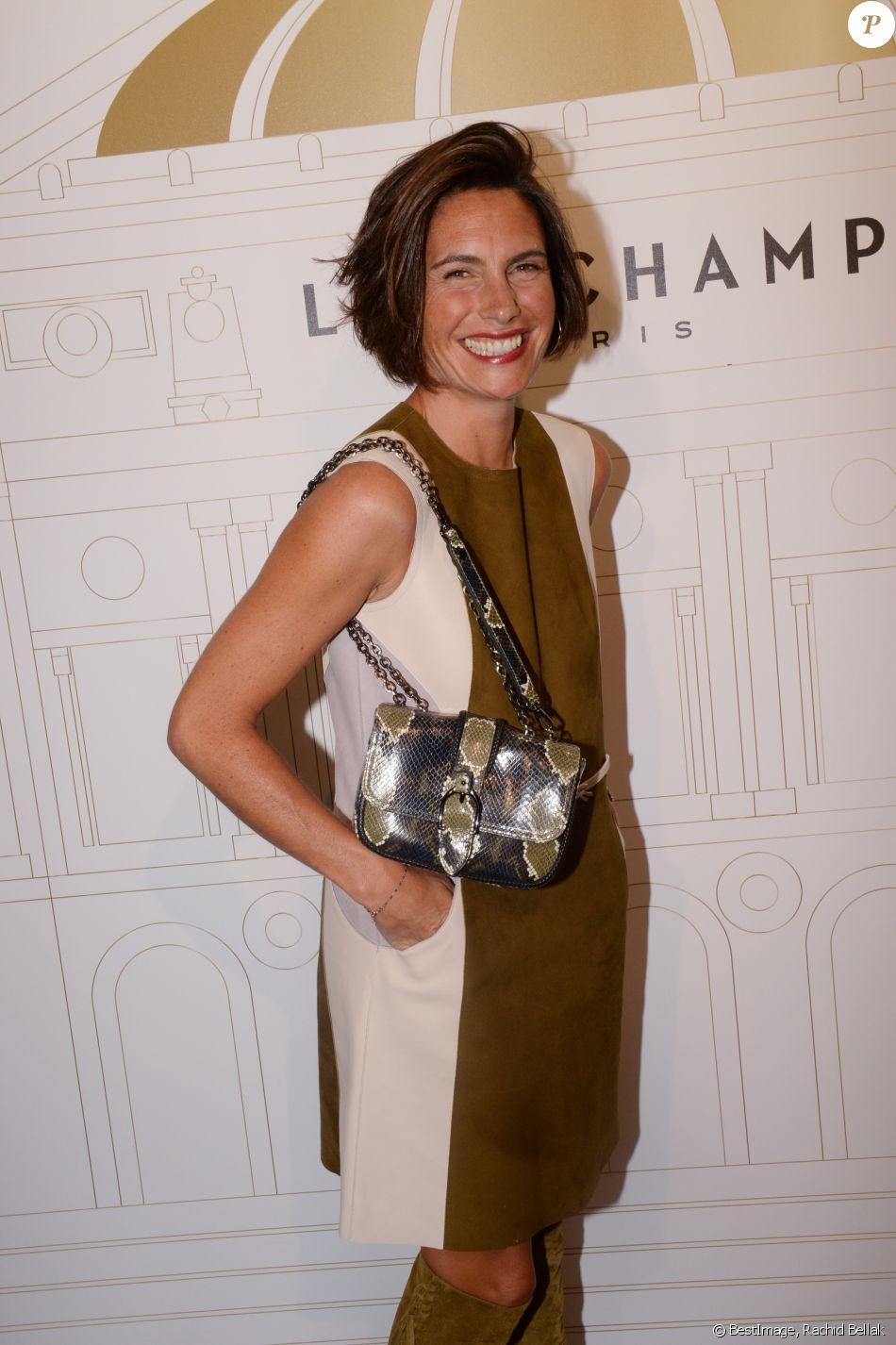 Semi-exclusif - Alessandra Sublet - Soirée du 70ème anniversaire de Longchamp à l'Opéra Garnier à Paris le 11 septembre 2018. © Rachid Bellak/Bestimage
