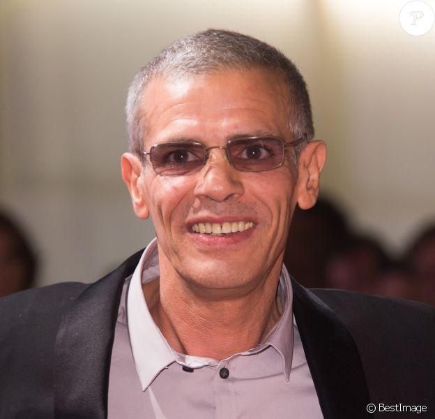"""Abdellatif Kechiche à la première de """"Mektoub"""" au 74ème Festival International du Film de Venise (Mostra), le 7 septembre 2017."""