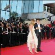 Patrick Bruel et Amanda Sthers - Festival de Cannes le 18 mai 2007.