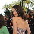 Asia Argento monte les marches pour l'ouverture du 62e Festival de Cannes